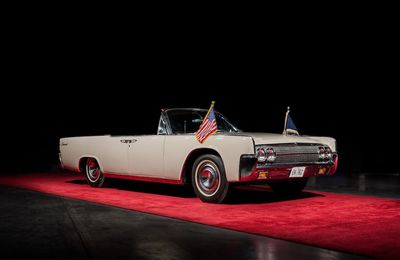 1963 Lincoln Continental JFK