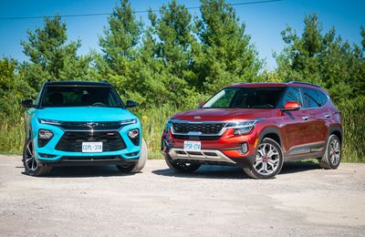 2021 Kia Seltos vs. 2021 Chevrolet Trailblazer