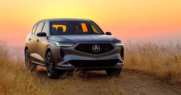 The 2022 Acura MDX has finally bowed (in prototype form)  image