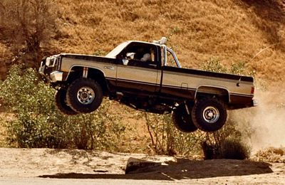 "Colt Seaver's 1982 GMC K2500 Sierra Grande on ""The Fall Guy"""