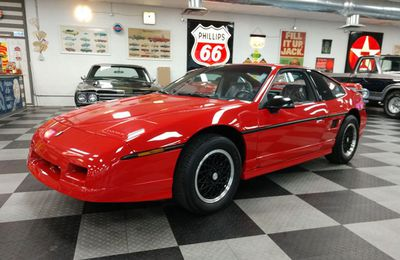 The Last 1988 Pontiac Fiero