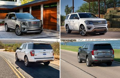 2021 Ford Expedition vs. 2021 GMC Yukon