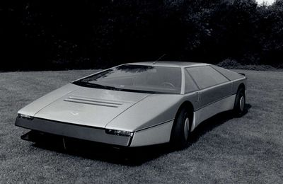 Aston Martin Bulldog Concept Car 1980
