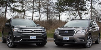 2020 Volkswagen Atlas vs 2020 Subaru Ascent
