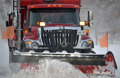 Sarnia snow storm plow truck snowplow winter