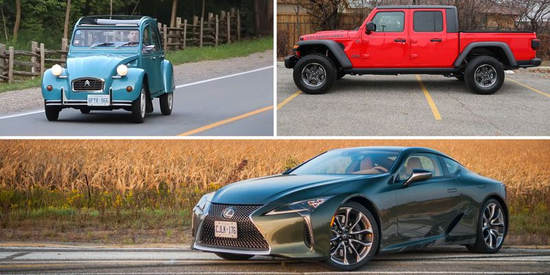 Favourite cars of 2020