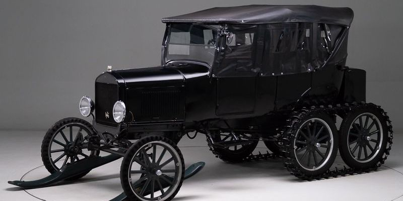 1926 Ford Model T Snowmobile