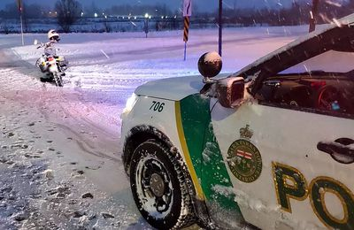 Niagara Parks Police on Twitter winter motorcycle bike ride snow storm