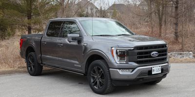 2021 Ford F-150 Lariat 4x4 SuperCrew with Hybrid