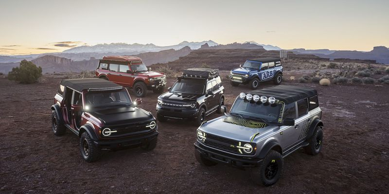 Ford Bronco Moab Concept