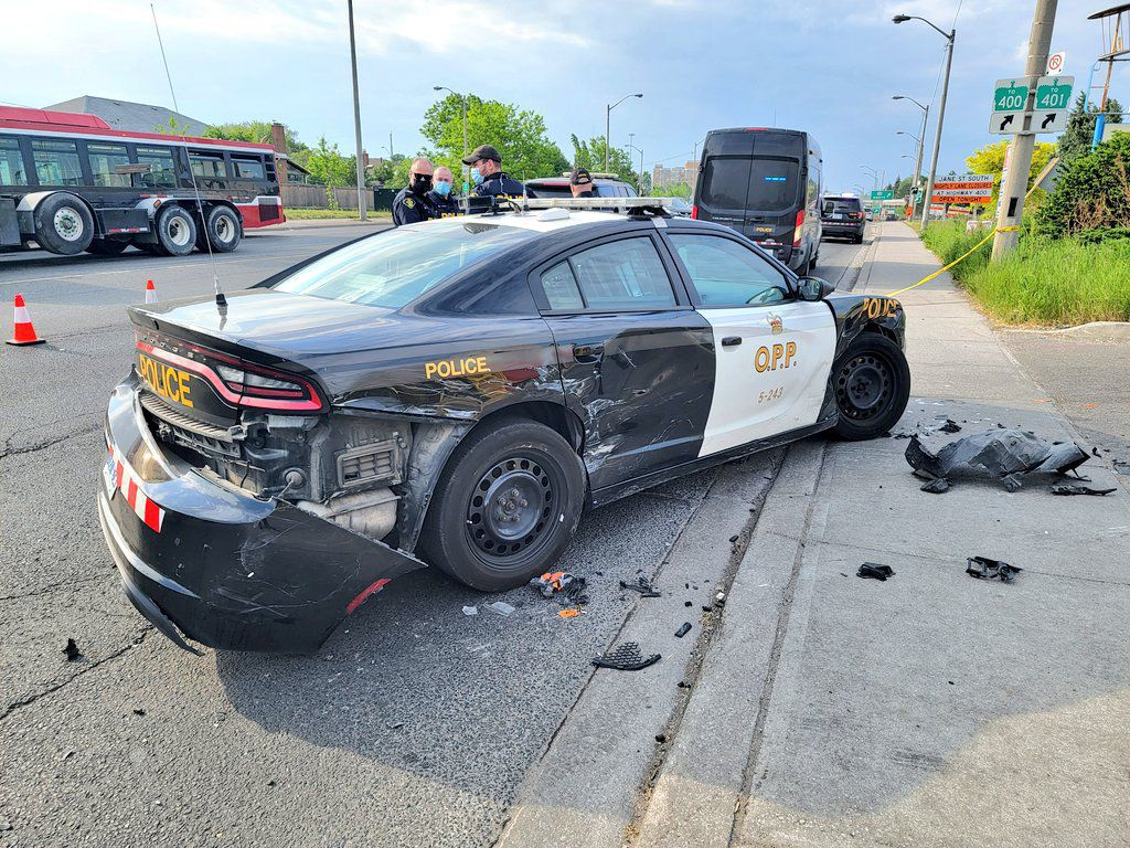 When the car is the weapon: More drivers are ramming police cruisers
