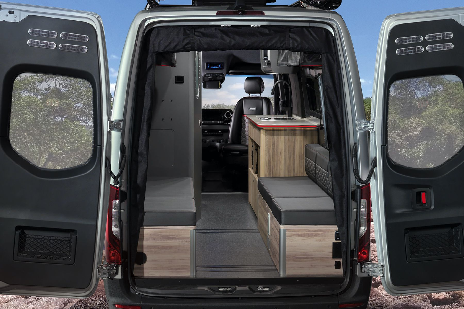 Airstream's take on van-life is a luxo-camper that costs a casual US$213,000