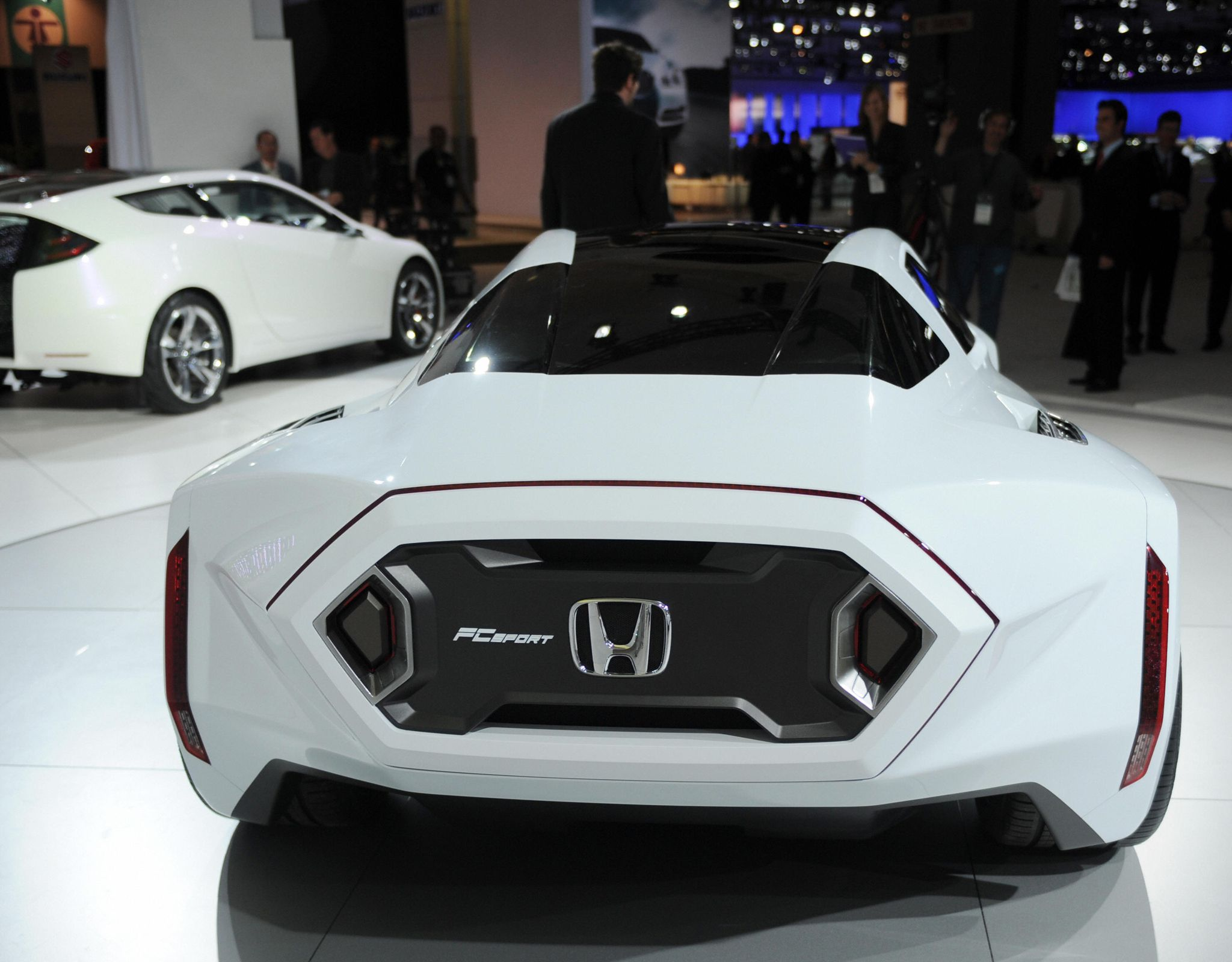 The Honda FC Sport fuel cell concept car