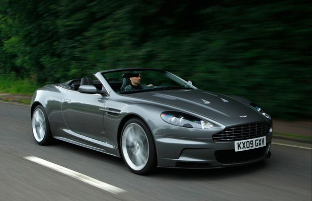 David Booth drives the 2010 Aston Martin DBS Volante.