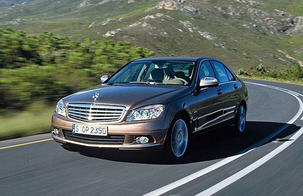 The 2009 Mercedes-Benz C-Class.