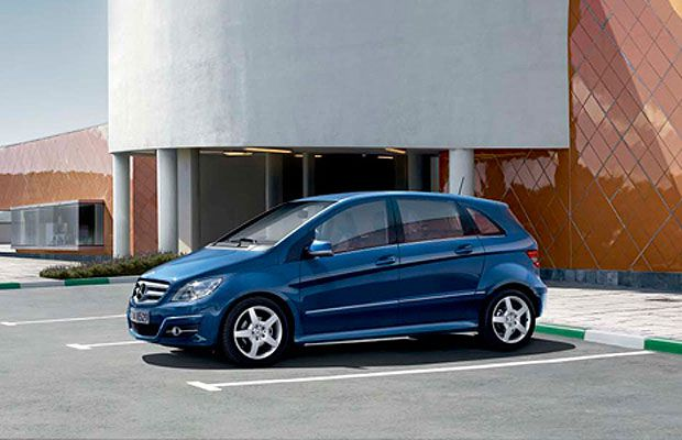 The 2009 Mercedes-Benz B200 Turbo.