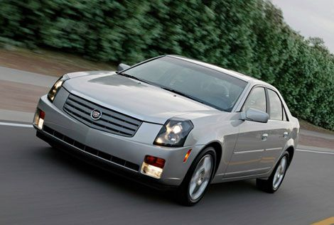 The first-generation Cadillac CTS returned the shine to the luxury brand's image.