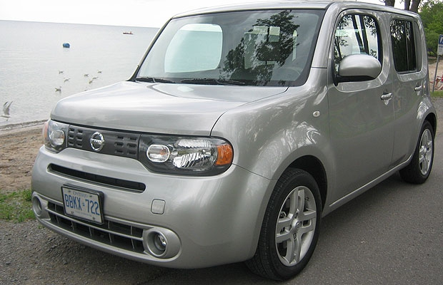 The 2009 Nissan Cube.