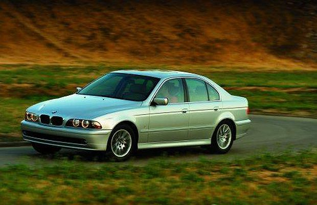 The 2002 BMW 5 Series.