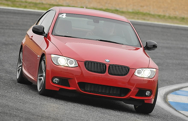 The pre-production 2011 BMW 335is coupe.
