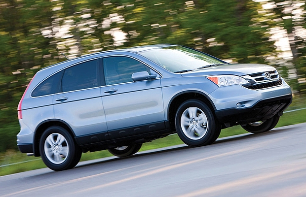 The 2010 Honda CR-V.