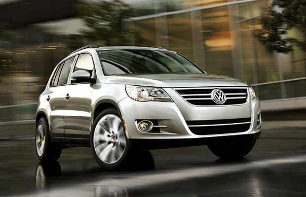 The 2010 Volkswagen Tiguan.