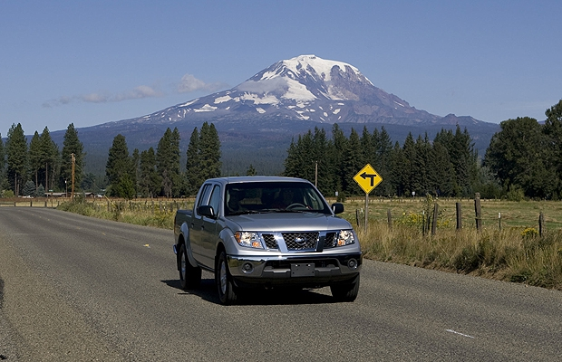 The 2010 Nissan Frontier.