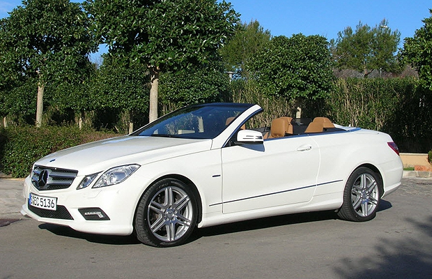 The 2011 Mercedes-Benz E-Class Cabriolet.