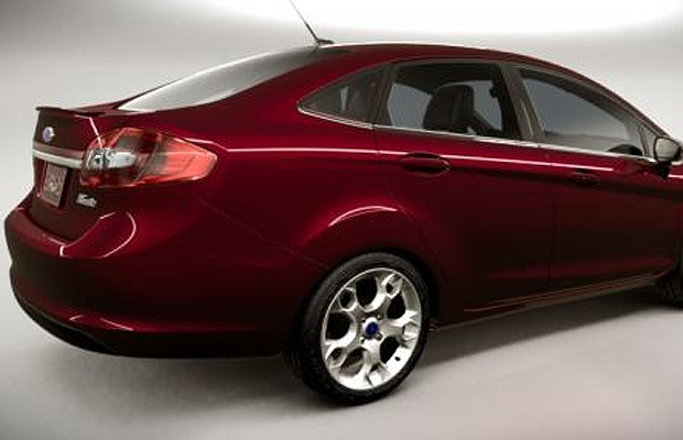 The 2011 Ford Fiesta.