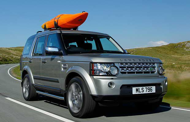 The 2011 Land Rover LR4.
