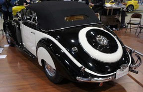 1938 BMW 327 at the Vancouver Auto Show.