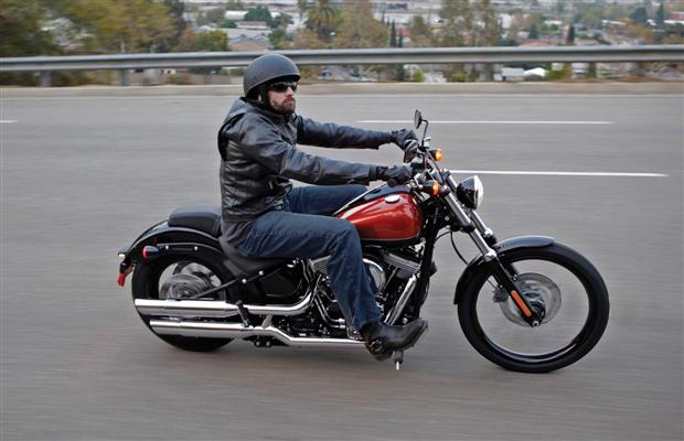 The Harley-Davidson Blackline is an easy rider.