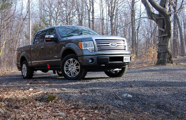 The 2011 Ford F-150 Platinum edition pickup is as luxurious as it is capable.