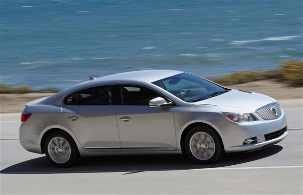 The 2012 Buick LaCrosse with e-assist technology.