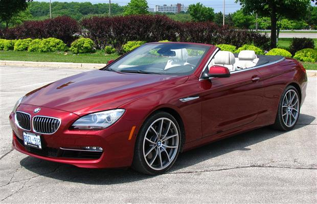 The 2012 BMW 650i Cabriolet.