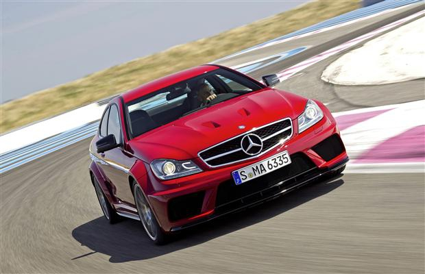 2012 Mercedes C 63 AMG Coupe Black Series.