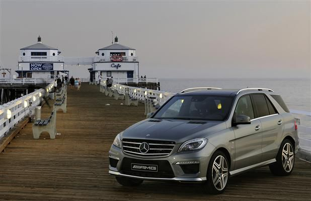 2012 Mercedes-Benz ML 63 AMG.