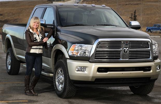 Jessica Wilkinson test drove the 2012 Dodge Ram 2500 Longhorn.