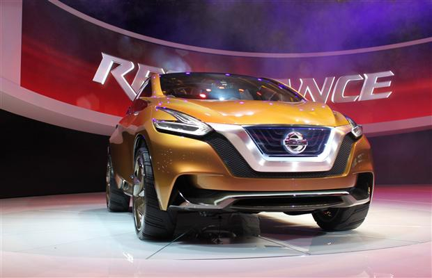 The Nissan Resonance concept was unveiled at the North American International Auto show in Detroit Jan. 15.