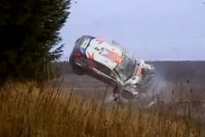 Screen image from Racing Legends - Colin McRae.