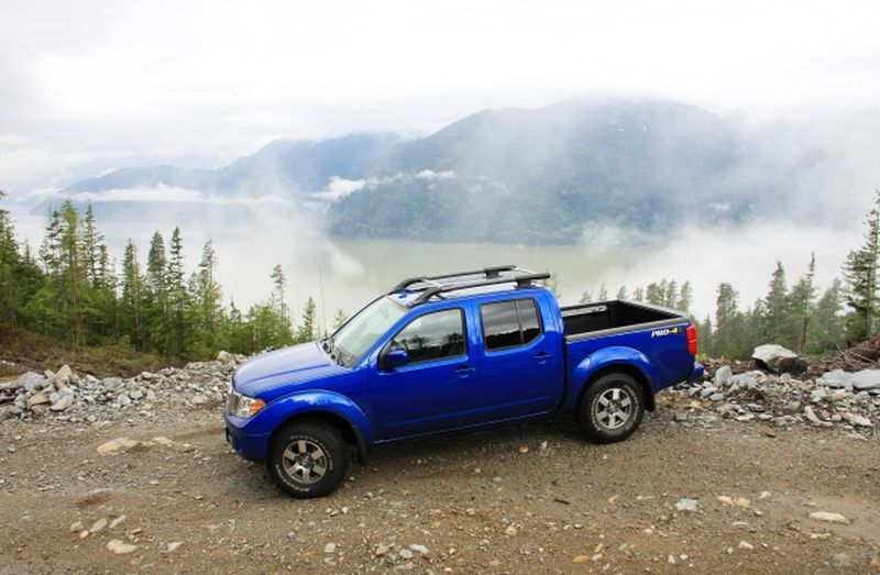 The 2013 Nissan Frontier Pro-4X Crew Cab