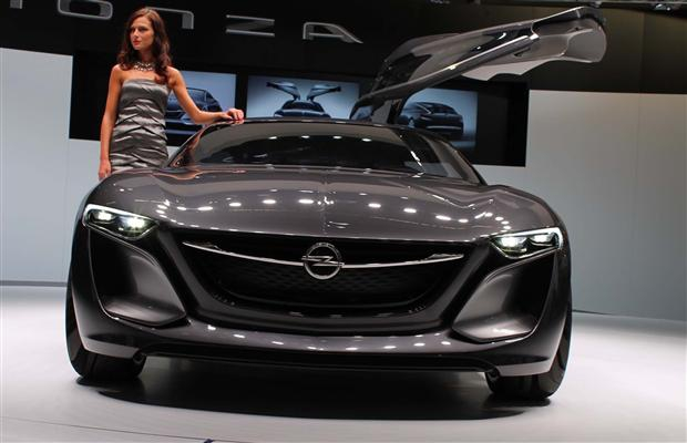Opel's Monza Concept was introduced at the 2013 Frankfurt Motor Show.