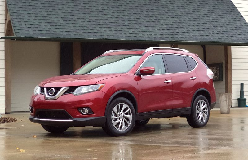 The new Rogue gets a longer wheelbase, which makes for a roomier cabin.