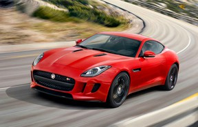 Excuse me while I wipe the drool off my keyboard ... here's the leaked photo of the Jaguar F-Type Coupe.