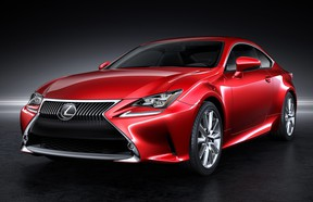 The Lexus RC Coupe made its debut at the Tokyo Motor Show in November.