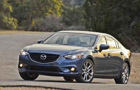 The 2014 Mazda6 is the 2014 Canadian Car of the Year.