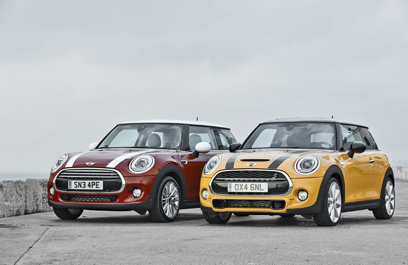 For 2015, the Mini Cooper is a little longer, a little wider, a little taller and looks a little different, but it's still a Mini.