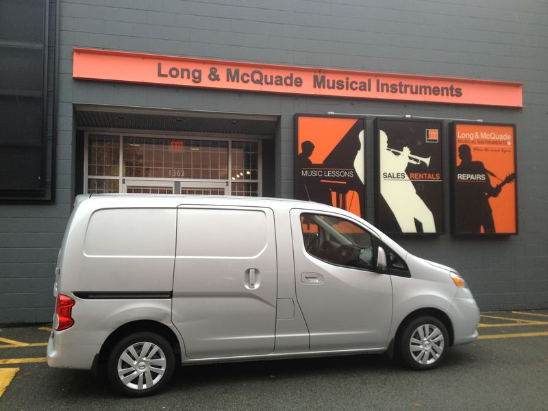 When driving the NV200, you'll begin to think how you are going to live without it.