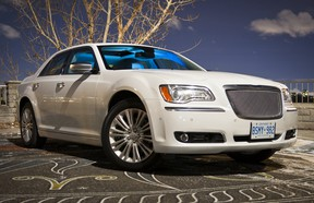 The 2014 Chrysler 300 is certainly a toasty way to get from A to B on a chilly winter's day.