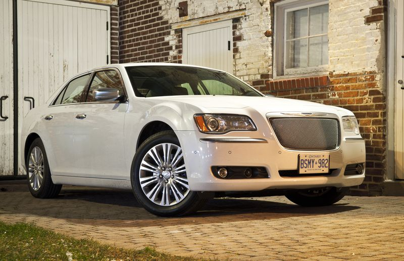 Few cars have as much of an imposing road presence as the Chrysler 300.